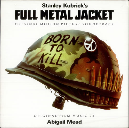 original soundtrack full metal jacket german vinyl lp. Black Bedroom Furniture Sets. Home Design Ideas