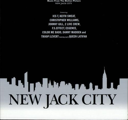 Original Soundtrack New Jack City Germany Vinyl LP Record