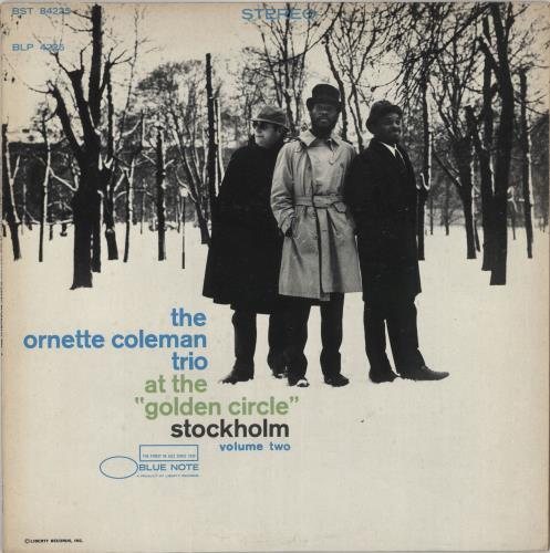 COLEMAN, ORNETTE - At The ''Golden Circle'' Stockholm - Volume Two - 'b' label - 12 inch 33 rpm