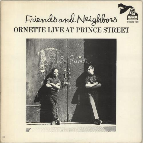 COLEMAN, ORNETTE - Friends And Neighbors - Ornette Live At Prince Street - 12 inch 33 rpm