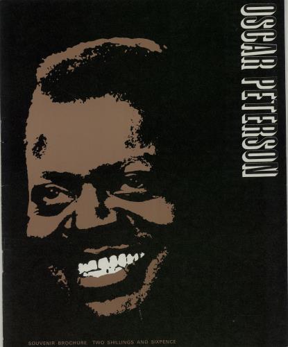 PETERSON, OSCAR - Souvenir Brochure - Autres