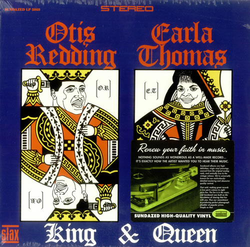 Otis Redding King Amp Queen 180gm Usa Vinyl Lp Record