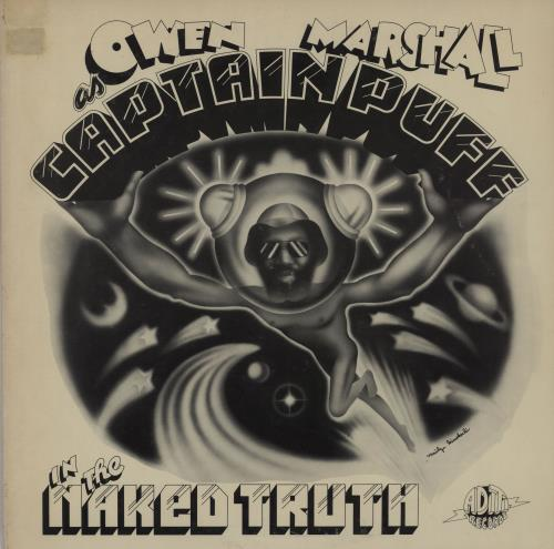 MARSHALL, OWEN - Captain Puff In The Naked Truth - 1st + PR enclosures - 12 inch 33 rpm