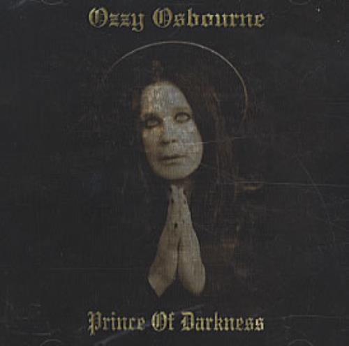 Ozzy Osbourne Prince Of Darkness USA Promo Cd Album ESK ...