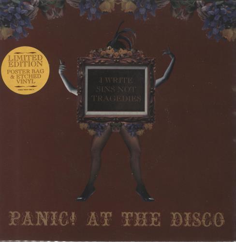 Panic At The Disco I Write Sins Not Tragedies Uk 7 Vinyl Record