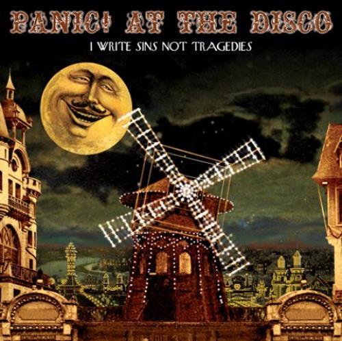 Panic At The Disco I Write Sins Not Tragedies Uk 5 Cd Single
