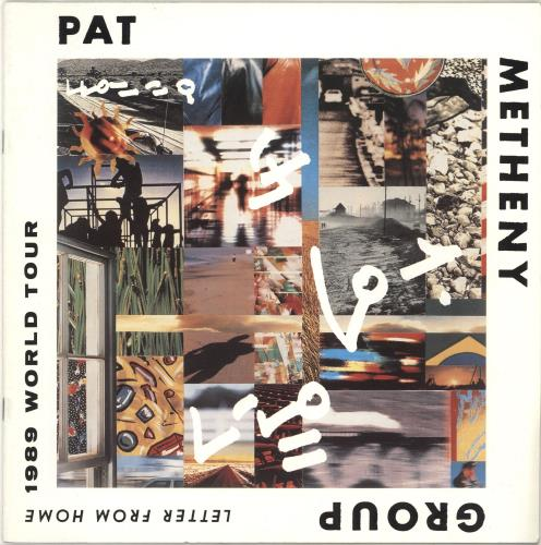 METHENY, PAT - Letter From Home - 1989 World Tour - Autres