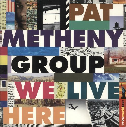 METHENY, PAT - We Live Here - 1995 World Tour - Others