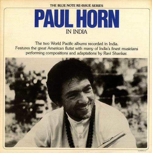 HORN, PAUL - In India - Maxi 33T