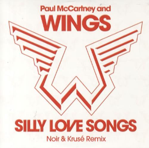 Paul Mccartney And Wings Silly Love Songs Danish 5 Cd Single