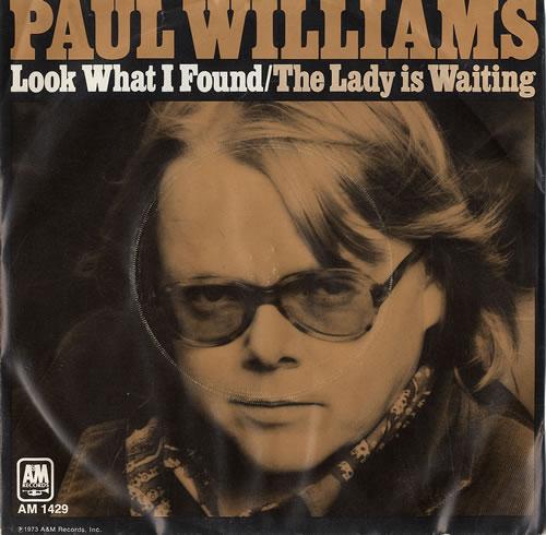 Paul Williams Look What I Found P S Uk 7 Quot Vinyl Record