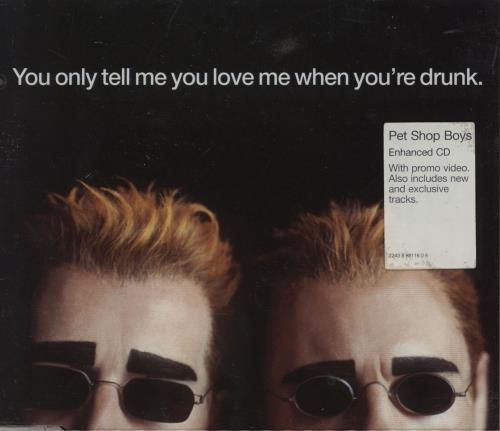 album you only tell me you love me when you re drunk de