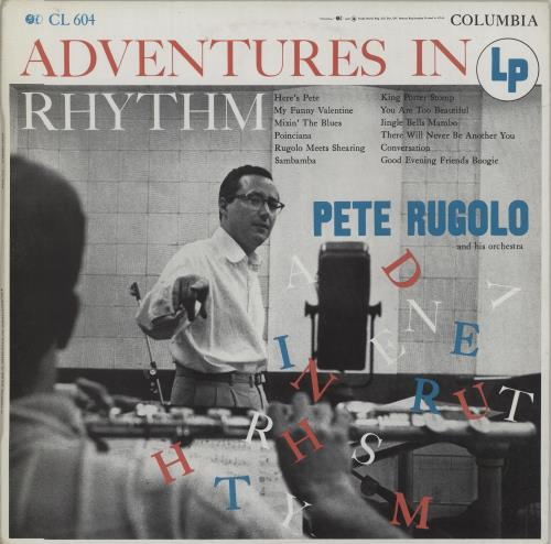 RUGOLO, PETE - Adventures In Rhythm - Maxi 33T