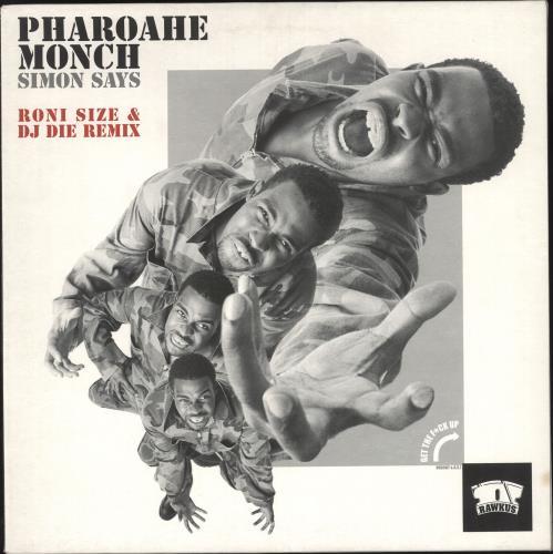 MONCH, PHAROAHE - Simon Says (Roni Size & DJ Die Remix) - 12 inch 33 rpm