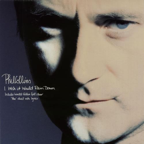 collins, phil i wish it would rain down + lyric insert