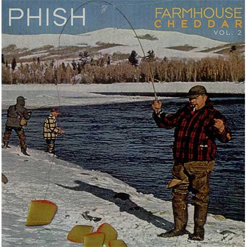Phish Farmhouse Cheddar Vol 2 Sealed USA Promo Cd Album Farmhouse Cheddar
