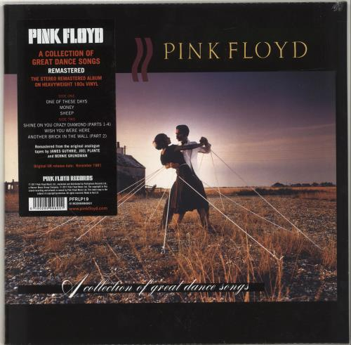 Pink Floyd A Collection of Great Dance Songs - 180gram - Sealed