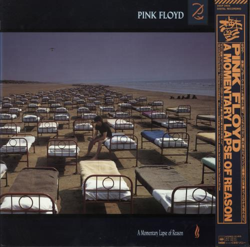 Pink Floyd A Momentary Lapse Of Reason + Obi