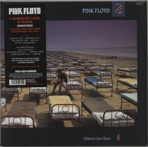 Pink Floyd A Momentary Lapse Of Reason - 180 Gram - Sealed