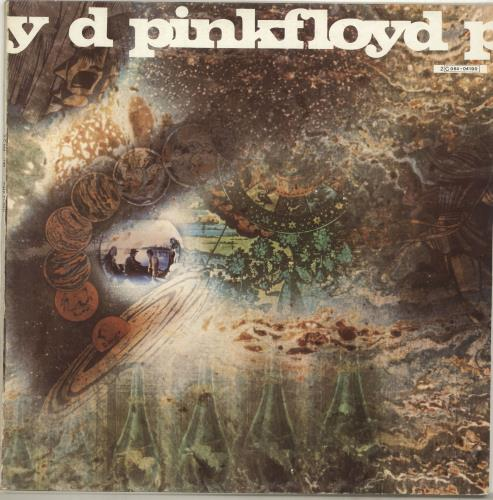 Pink Floyd A Saucerful Of Secrets - 6th Pressing