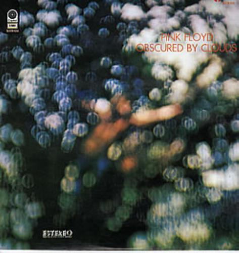 Pink Floyd Obscured By Clouds Mexican Vinyl LP Record SLEM ...