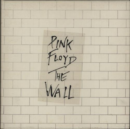 Pink Floyd The Wall - 2nd + Sticker