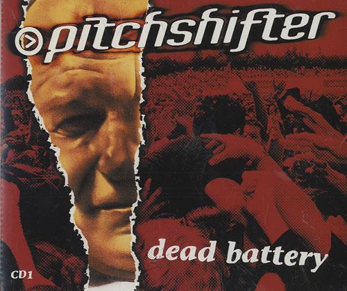 PITCHSHIFTER - Dead Battery - CD