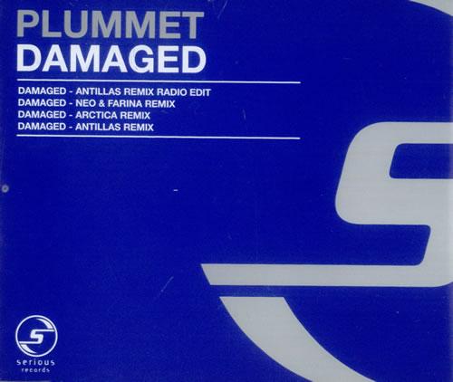 "Plummet Damaged UK 5"" Cd Single SER68CD Damaged Plummet ..."