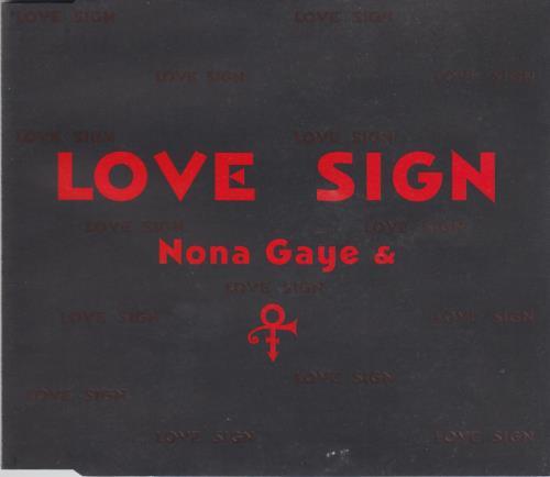 Prince Love Sign German Promo 5 Quot Cd Single 0060605npg Love