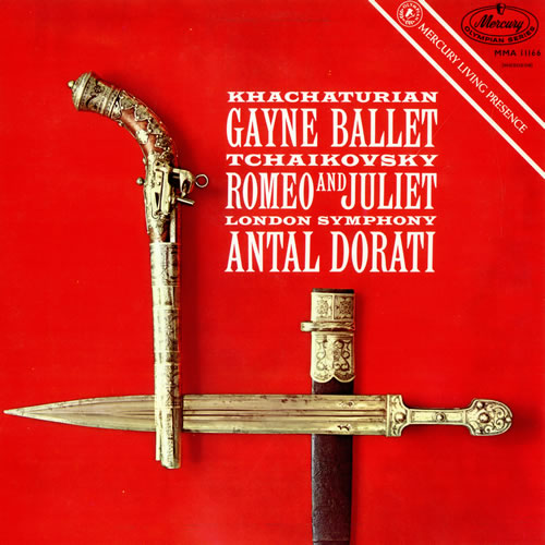 TCHAIKOVSKY, PYOTR ILYICH - Gayne Ballet/ Romeo And Juliet - Factory Sample - 12 inch 33 rpm