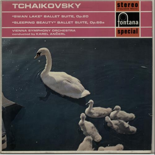 The Sleeping Swans >> Swan Lake The Sleeping Beauty By Tchaikovsky Pyotr Ilyich 12inch