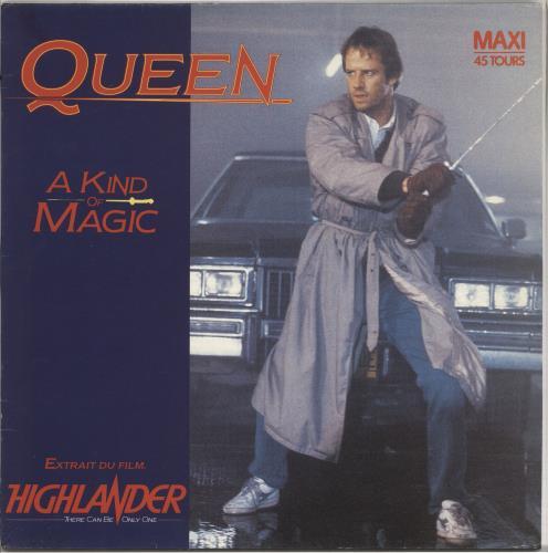 Queen Highlander Soundtrack: Alternative Highlander Sleeve
