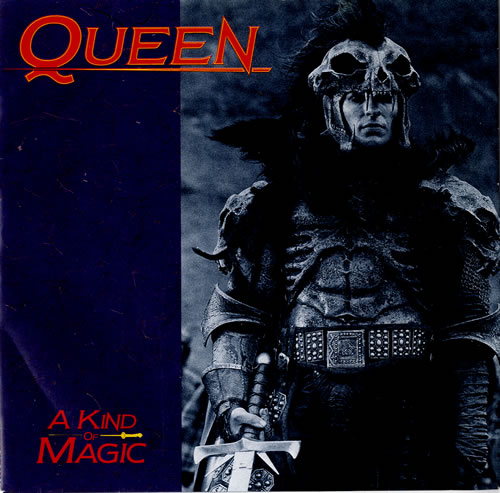 queen a kind of magic + sleeve