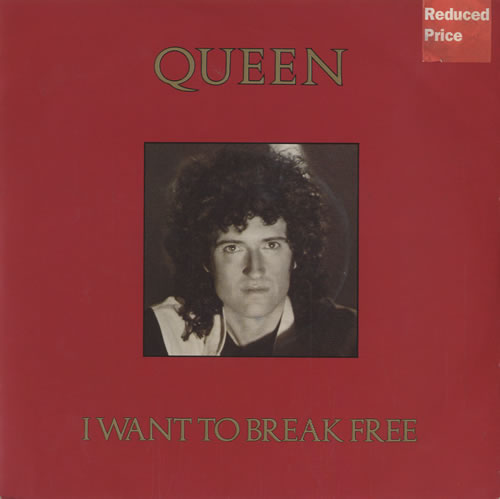 Queen I Want To Break Free - Brian May picture sleeve