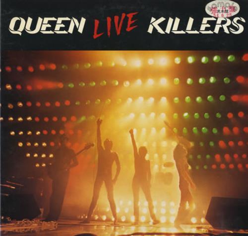 queen live killers red green vinyl japanese promo double vinyl lp p 5567 8e live killers. Black Bedroom Furniture Sets. Home Design Ideas