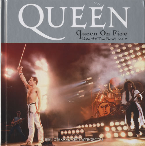 queen queen on fire: live at the bowl vol.2 - sealed