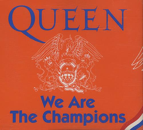 We Are The Champions By Queen Cd With Eilcom Ref 3084596364