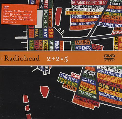 Radiohead 2+2=5