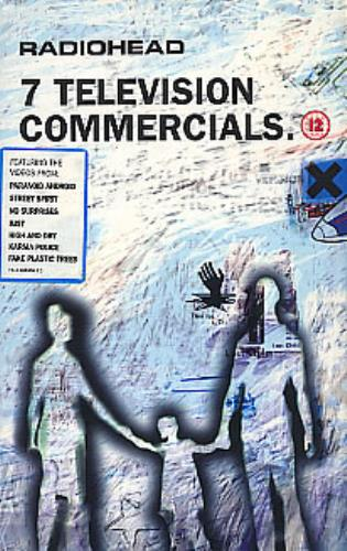 Radiohead 7 Television Commercials