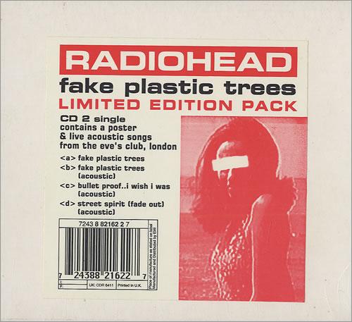 Fake Plastic Trees.Radiohead Fake Plastic Trees Cd 2 Poster