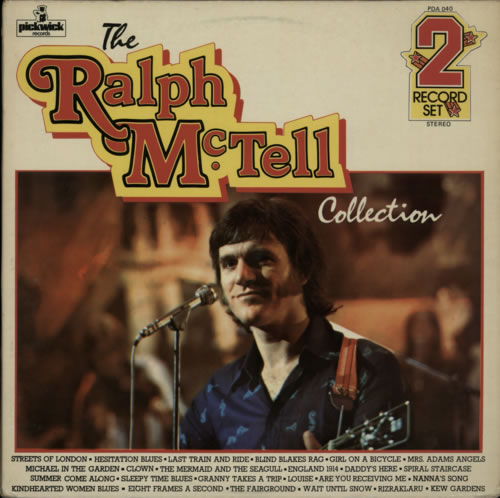 MCTELL, RALPH - The Ralph McTell Collection - 12 inch 33 rpm