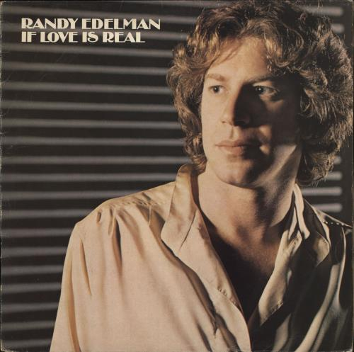 EDELMAN, RANDY - If Love Is Real - Maxi 33T