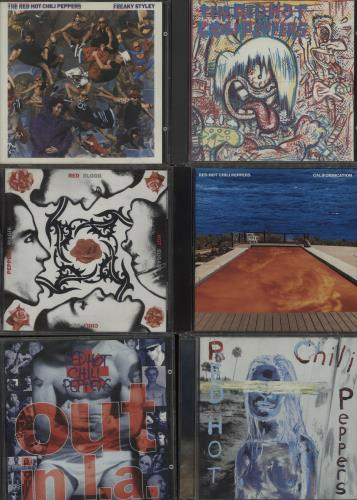 Red Hot Chili Peppers 1984-2003 Albums