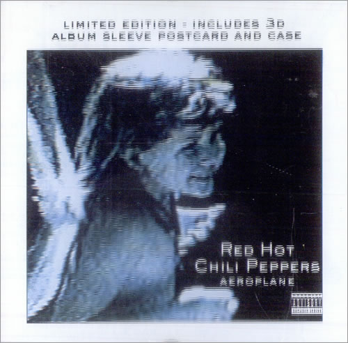 Red Hot Chili Peppers Aeroplane - 3-D Sleeve