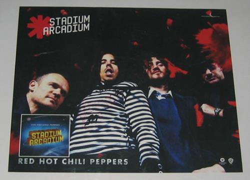 Red Hot Chili Peppers Stadium arcadium (Vinyl Records, LP ...