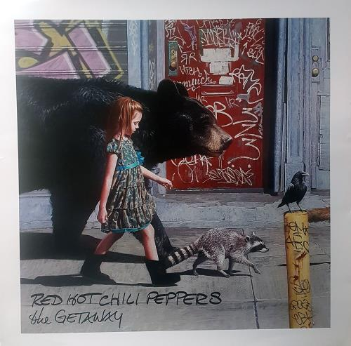 RED HOT CHILI PEPPERS - The Getaway - Poster / Display