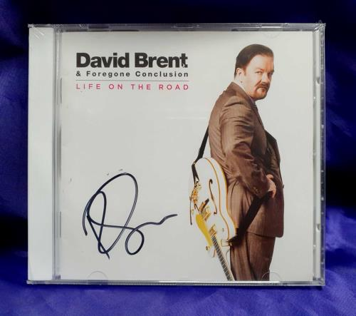GERVAIS, RICKY - Life On The Road - Autographed - Sealed - CD