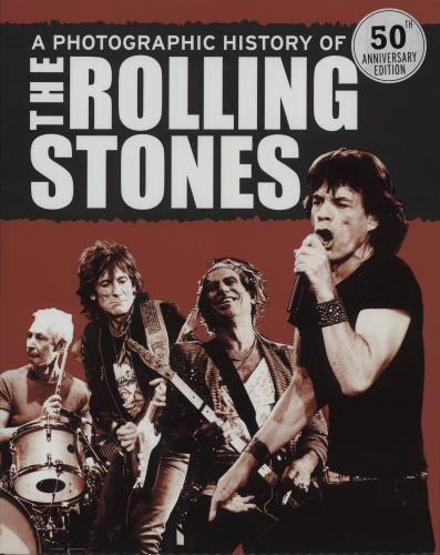 ROLLING STONES - A Photographic History Of... - Livre