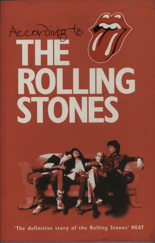 ROLLING STONES - According To The Rolling Stones - Book