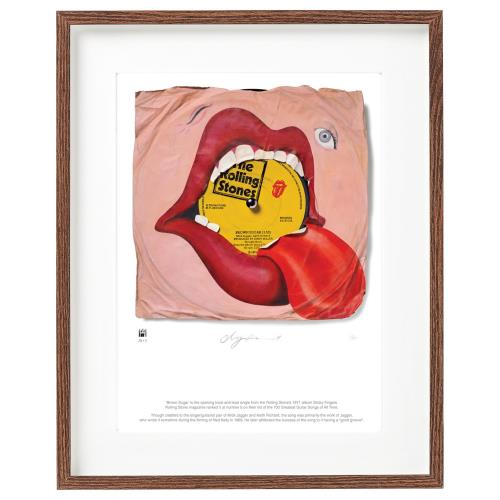 ROLLING STONES - Brown Sugar - SuperSizeArt Numbered Print - Poster / Display